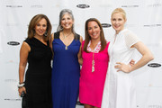 (L-R) Rosanna Scotto, Joan Hornig, Samantha Yanks and Kelly Rutherford attend Hamptons Magazine Celebration of The Children's Justice Campaign Of Joan & George Hornig on August 16, 2014 in Water Mill, New York.