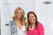 (L-R) Christie Brinkley and Samantha Yanks attend Hamptons Magazine Celebration of The Children's Justice Campaign Of Joan & George Hornig on August 16, 2014 in Water Mill, New York.