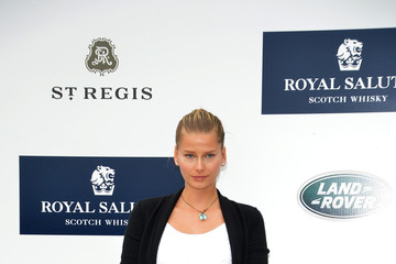 Hana Soukupova Celebs at the Sentebale Royal Salute Polo Cup