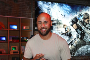 Hank Baskett Xbox & 'Gears of War 4' Los Angeles Launch Event at the Microsoft Lounge
