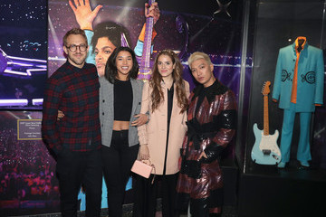 """Hannah Bronfman American Express x Justin Timberlake """"Man Of The Woods"""" Listening Session At Paisley Park"""