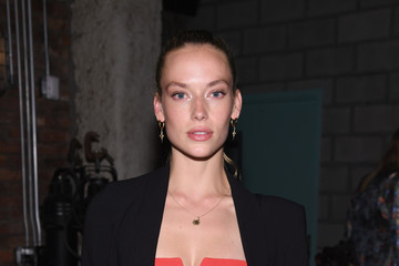 Hannah Ferguson Russell James And Ed Razek Host U.S. Book Launch Of 'Backstage Secrets By Russell James'