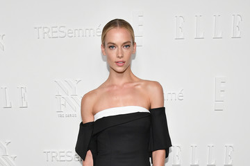 Hannah Ferguson E!, ELLE & IMG Host NYFW Kickoff Party, a Celebration of Personal Style - Sponsored by TRESEMME - Arrivals