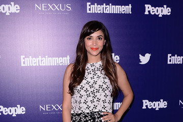 Hannah Simone 'Entertainment Weekly' and 'People' Celebrate The New York Upfronts - Arrivals