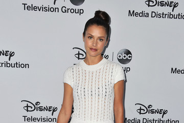 Hannah Ware Arrivals at the Disney Media Upfronts