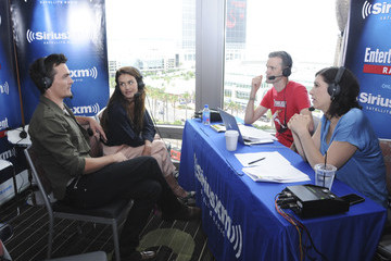 Hannah Ware SiriusXM's Entertainment Weekly Radio Channel Broadcasts From Comic-Con 2015