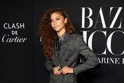 Zendaya attends as Harper's BAZAAR celebrates 'ICONS By Carine Roitfeld' at The Plaza Hotel presented by Cartier - Arrivals on September 06, 2019 in New York City.