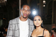 """Russell Wilson and Karrueche Tran attends as Harper's BAZAAR Celebrates """"ICONS By Carine Roitfeld"""" at the Plaza Hotel on September 7, 2018 in New York City."""
