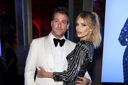 """Mark Birnbaum and Tori Praver attend as Harper's BAZAAR celebrates """"ICONS By Carine Roitfeld"""" at The Plaza Hotel presented by Cartier - Inside on September 06, 2019 in New York City."""