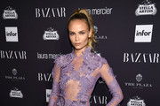Natasha Poly - Every Stunning Look from Harper's Bazaar's 'ICONS' Party