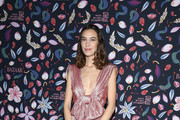 (EDITORIAL USE ONLY) Alexa Chung attends the Harper's Bazaar Exhibition as part of the Paris Fashion Week Womenswear Fall/Winter 2020/2021 At Musee Des Arts Decoratifs on February 26, 2020 in Paris, France.