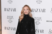Clara Paget attends the Harper's Bazaar Women of the Year Awards at The Ballroom of Claridges on October 30, 2018 in London, Englan