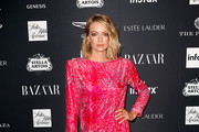 Lindsay Ellingson attends Harper's BAZAAR Celebrates 'ICONS By Carine Roitfeld' at The Plaza Hotel on September 7, 2018 in New York City.