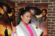 """La La Anthony attends the """"Harriet"""" New York Screening at The Roxy Hotel on October 24, 2019 in New York City."""