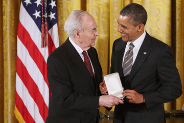 Harris Wofford President Obama Presents 2012 Citizens Medals