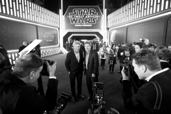 Premiere of 'Star Wars: The Force Awakens' - Red Carpet