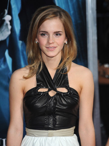 harry potter emma watson haircut. Emma Watson new long haircuts