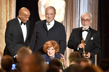 Harry Belafonte Jean-Claude Carriere Academy Of Motion Picture Arts And Sciences' Governors Awards - Show