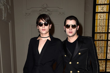 Harry Brant Jean Paul Gaultier : Front Row - Paris Fashion Week - Haute Couture Fall/Winter 2015/2016