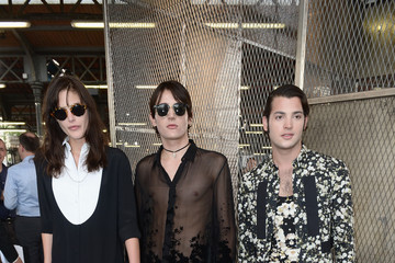 Harry Brant Celebrities Arrive at Givenchy During Paris Fashion Week