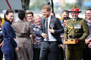 Harry Duke of Sussex The Duke And Duchess Of Sussex Visit New Zealand - Day 1