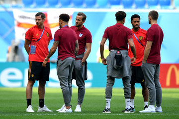 Harry Kane Dele Alli Belgium vs. England: 3rd Place Playoff - 2018 FIFA World Cup Russia