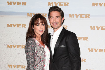 Harry Kewell Sheree Murphy Arrivals at the Myer Runway Show