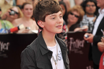 """Greyson Chance """"Harry Potter And The Deathly Hallows: Part 2"""" New York Premiere - Arrivals"""