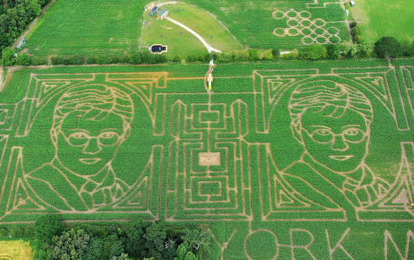The Harry Potter Themed York Maze