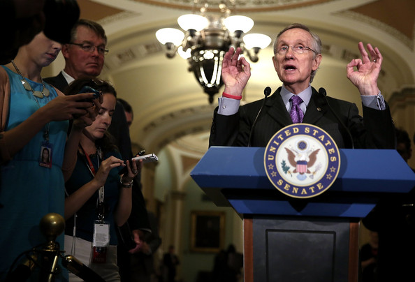 Senate Democrats Hold Weekly Policy Luncheon