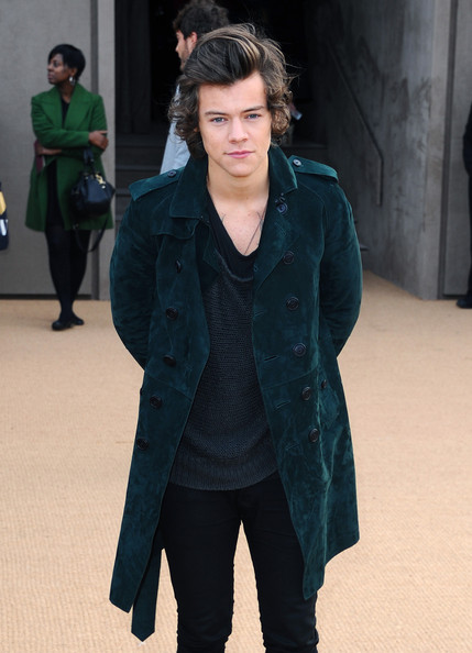 Harry Styles - Arrivals at the Burberry Prorsum Show