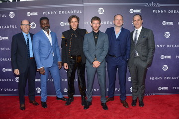 Harry Treadaway Reeve Carney 'Penny Dreadful' Premieres in NYC