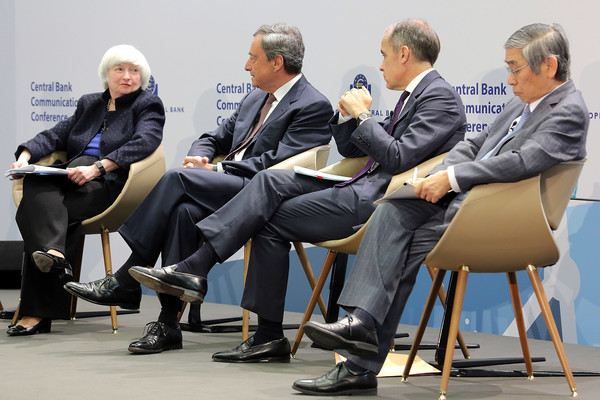 Central Bank Leaders Discuss Central Bank Communication