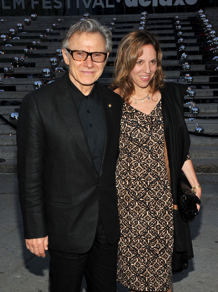 Harvey Keitel with nice, Wife Daphna Kastner