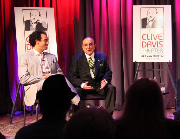 """American Express Presents """"Icons Of The Music Industry: Clive Davis"""" At The GRAMMY Museum"""