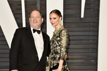 Harvey Weinstein Arrivals at the Elton John AIDS Foundation Oscars Viewing Party — Part 5