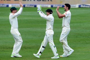 Hashim Amla South Africa Vs. Australia - 4th Test: Day 1
