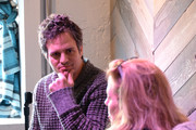 Actor Mark Ruffalo (L) and co-founder of Impact Partners Geralyn Dreyfous speak at the Haus Chat: Mark Ruffalo on January 17, 2014 in Park City, Utah.