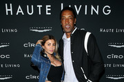 Larsa Pippen and Scottie Pippen attend the Haute Living Celebrates Maluma with JetSmarter and Ciroc at The Highlight Room at the Dream Hollywood on May 15, 2018 in Hollywood, California.