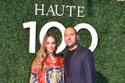 Hannah Jeter and Derek Jeter attend Haute Living's Haute 100 10th Anniversary Party at Swan Miami on October 25, 2018 in Miami, Florida.