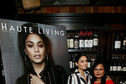 Vanessa Hudgens and  Gina Guangco attend the Haute Living and Jaquet Droz Honoring of Vanessa Hudgens at A.O.C. on January 17, 2019 in Los Angeles, California.