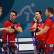 Havard Vad Petersson Curling - Winter Olympics Day 9