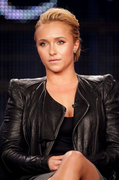 Hayden Panettiere Actor Hayden Panettiere speaks during the 'The Amanda Knox Story' panel at the Lifetime Television portion of the 2011 Winter TCA press tour held at the Langham Hotel on January 7, 2011 in Pasadena, California.