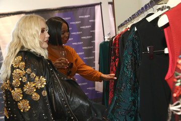 Hayley Hasselhoff Marina Rinaldi By Fausto Puglisi Capsule Collection Launch