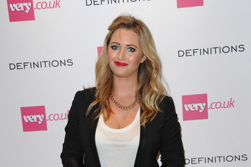 Hayley McQueen Arrivals at the Very.co.uk Launch Party
