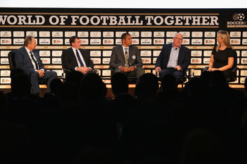 Hayley McQueen Soccerex Global Convention 2016 Day 1
