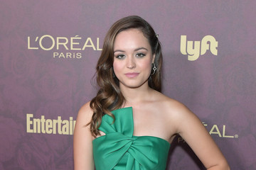 Hayley Orrantia Entertainment Weekly And L'Oreal Paris Hosts The 2018 Pre-Emmy Party - Arrivals