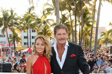 Hayley Roberts Paramount Pictures' World Premiere of 'Baywatch'