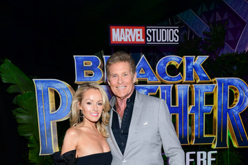 Hayley Roberts Premiere Of Disney And Marvel's 'Black Panther' - Red Carpet