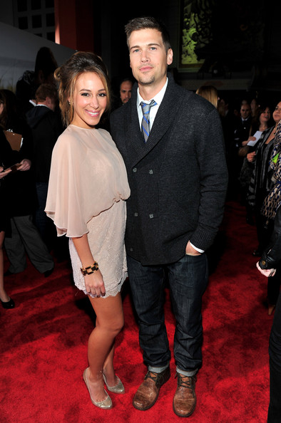 Haylie Duff Nick Zano Photos - Premiere Of Screen Gems ...